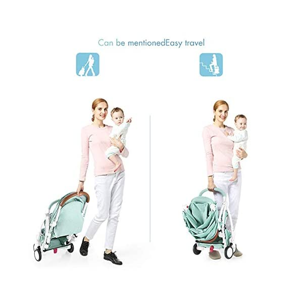 ZLMI Pushchairs Lightweight Pram Buggies Travel System Foldable Buggy 0-3 Years Old Baby Stroller bb Car,B ZLMI The adjustable 5-point safety harness has comfortable shoulder pads, The sturdy frame has a wider seat which results in a more comfortable ride for your child The stroller can be easily folded, smaller and more portable; the adjustable backrest angle can be seated or lying down, as well as a large shopping basket and caster The body is made of high-quality steel pipe, strong and durable, strong load-bearing, soft pedals, safe and environmentally friendly, will not scratch the baby, strong toughness and durability 3