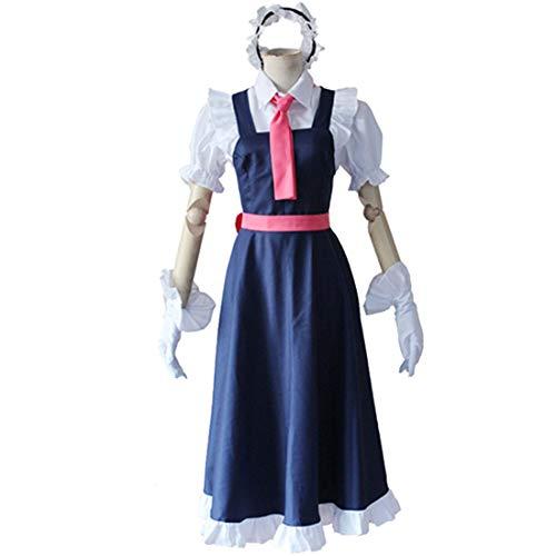 ragon Maid Tohru Cosplay Kostüm für Damen Kobayashi San Chi No Maid Uniformen Halloween Kostüm,Full Set-XL ()