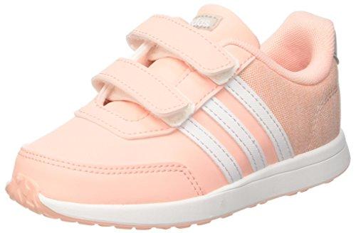 adidas Unisex Baby VS Switch 2 CMF Gymnastikschuhe, Mehrfarbig (Haze Coral S17/ftwr White/Grey Two F17), 27 EU