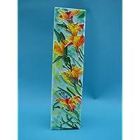 "Tile Picture Freesia Whimsey 4x16"""" by Benaya"