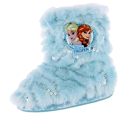 Disney Gefrorene Mädchen Anna & Elsa Bootie Hausschuhe (EUR 28)