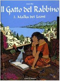 Malka dei Leoni. Il gatto del rabbino: 2