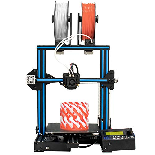 Geeetech A10M Mix 3D Printer Color Printing, Dual extruder design, Metal detector filament and resuming function Break, Prusa I3 fast assembly DIY Kit.