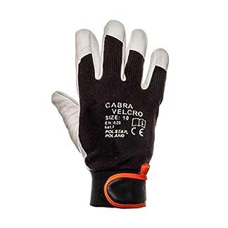 Cabra Velcro® – Guantes de Trabajo con Cierre de Velcro para Piel Reforzada