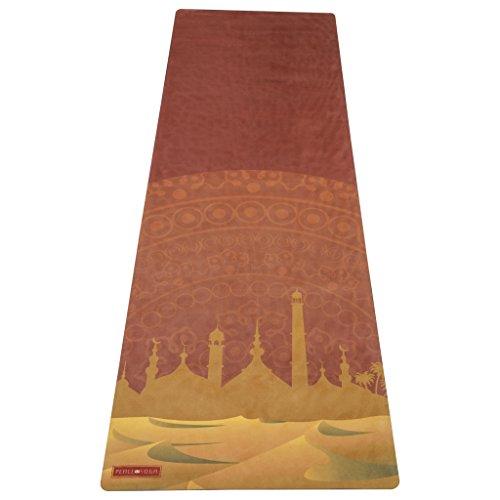Peace Yoga Mikrofaser Top Hot Yoga Matte, Mirage Mat (Yoga-matte Bean)