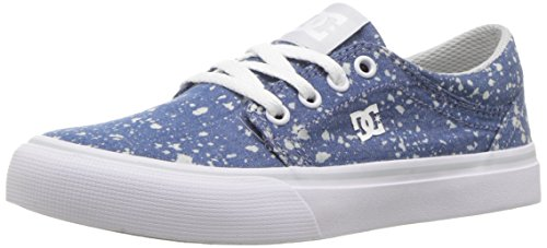 DC Boys' Trase TX SE Sneaker, Denim, 11 M US Big Kid