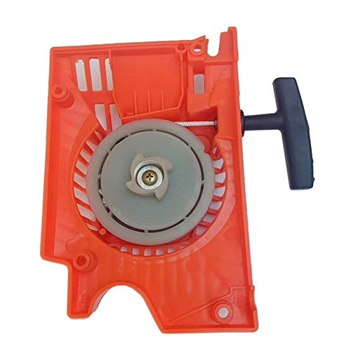 Filter Pull Recoil Starter Start, Ersatz Lightweight Practical Recoil Starter Kettensäge Teil Pull für 52ccm 58ccm