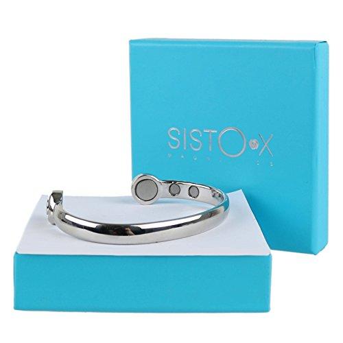 elegant-super-strong-magnetic-bangle-chrome-finish-by-sisto-xr-copper-bracelet-6-magnets-health-rare