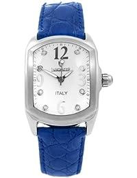 Lancaster 0264WDB - Reloj analógico de cuarzo unisex con correa de piel, color azul
