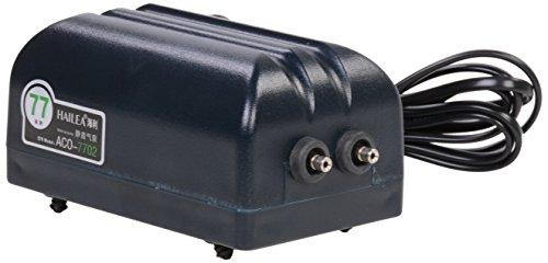 Hailea Aco 7702 Luftpumpe, 4, 5 Watt, 2x 4 l/min