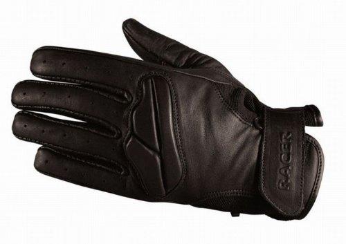 Racer Field Handschuh, Schwarz, Größe L