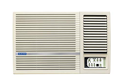 Blue Star 1.5 Ton 3 Star Window AC (Copper, 3W18LD, White)