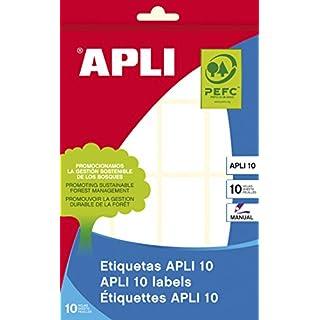 APLI Etiketten 25 x 40 mm weiß