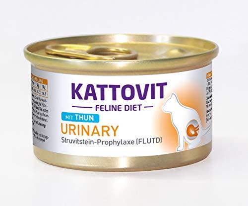 Kattovit Katzenfutter Urinary Thunfisch 85 g, 24er Pack (24 x 85 g)