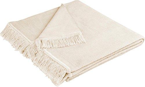 biederlack Sofaläufer Baumwollmischung Natur Größe 50x200 cm