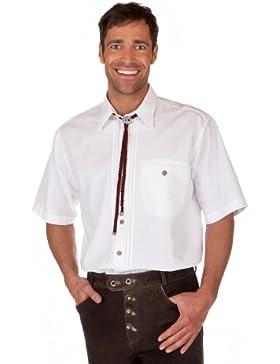 Orbis Textil H074 - Trachten Herren Hemd mit 1/2-Arm