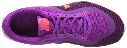Nike WMNS Flex Trainer 6 - Sneakers Donna Viola (Hyper Volt/Totalcrimson Cosmic Purple B), (Azul (Hypr Vlt / Ttl Crmsn-Csmc Prpl-B))