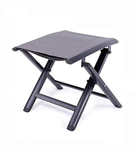 Siège pliant portable Siège alliage d'aluminium Outdoor Camping Selle de pêche Chaise de pique-nique en plein air, etc. , gray