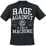 Rage Against The Machine Crown Collage Camiseta Negro