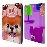Head Case Designs Offizielle Boo-The World's Cutest Dog Onesies Charakter Kunst Brieftasche Handyhülle aus Leder für iPad Air (2013)