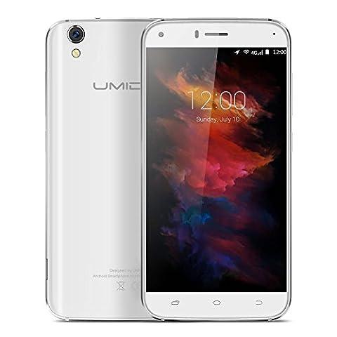 UMIDIGI Diamond Smartphone handy(5.0 Zoll (12,7 cm) Touch-Display, 4G Dual