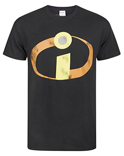 The Incredibles Movie Distressed Logo Men's Costume T-Shirt - Disney Family Fun Kostüm