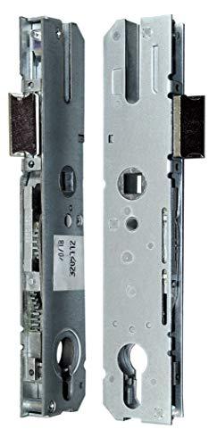 KFV Reparatur Schlosskasten Hauptschloss AS 8250 ohne Riegel Dornmaß: 25mm (22mm) / Entfernung 92mm, incl. SN-TEC Montagematerial zum Schrauben und Nieten & Montageanleitung