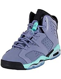 Nike JORDAN AIR Retro 6 GG (GS) 543390-508 Junior, color Gris