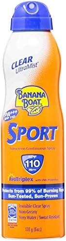 Banana Boat Sport Performance Sunscreen Spray SPF 110 (170gm)
