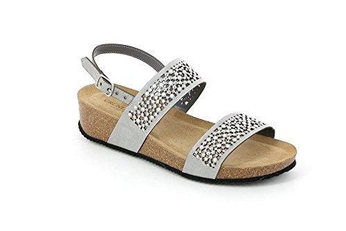 Sandalo Grigio Sb0880 Anin S Donna Grunland zFwPqEz