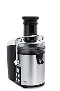 CASO Germany 13505 Power Juicer with Filter Basket, Stainless Steel