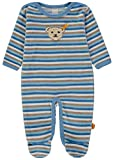 Steiff Baby-Jungen Strampler 1/1 Arm Nicky, Blau (Allure|Blue 3110), 56