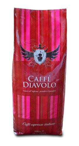 Caffé Diavolo Rosso Espresso, 1000 Gramm, Bohne
