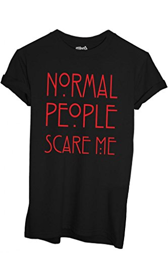 T-Shirt AMERICAN HORROR STORY NORMAL PEOPLE - FILM by iMage Dress Your Style - Uomo-M-NERA