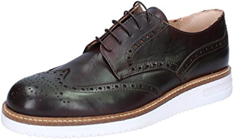 FDF SHOES Zapatos de cordones de Piel para hombre