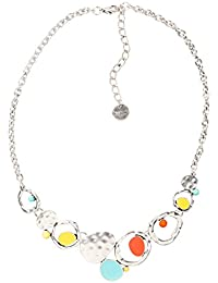 Desigual - Collier court - Plaqué argent - Global Traveller - 47 cm - 74G9EC45013U
