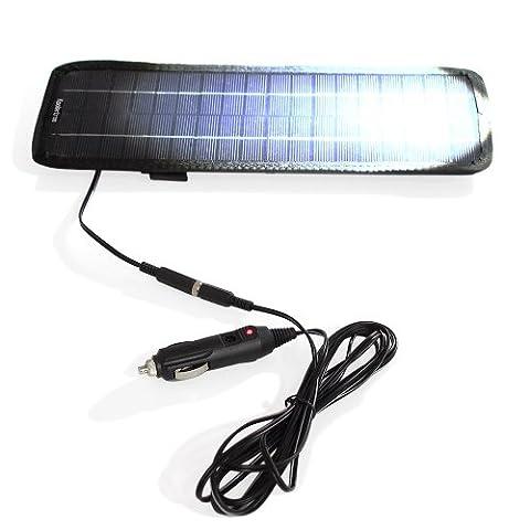 Koolertron 4.5-Watt 12V Solar Panel Battery Charger / 12V Trickle