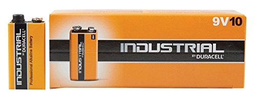 Duracell OEM 9 Volt Block Industrieware Batterie MN1604 6LR61 Alkaline 9 V, 10 Stück