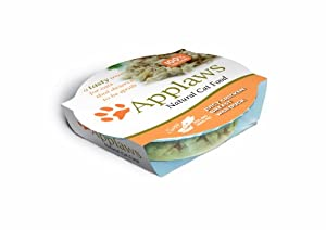 Applaws Cat Pot Juicy Chicken Breast with Duck 60 g (Pack of 18)