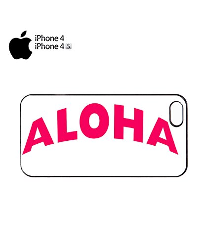 Aloha Pink Summer Cool Tumblr Colour Color Mobile Phone Case Cover iPhone 6 Plus + White Noir