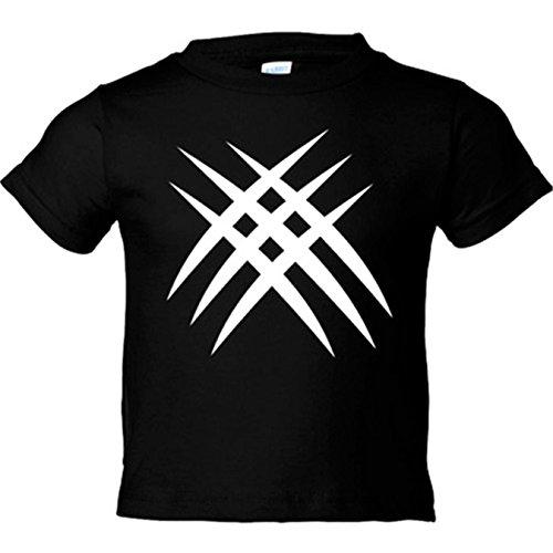 Camiseta niño Garras lobezno - Negro, 12-14 años