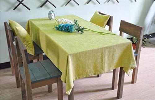 WG Europäischen Stil Esstisch mit hoher Qualität Tableclotheuropean Stil Tischdecke Literary Plain Verdickung Moderne Nachahmung von Baumwolle Flachs Leinen Tischdecke Schöne geruchlose Kaffee Tischs - Grüner-kaffee-tisch