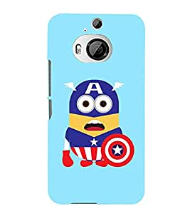Vizagbeats captain america cartoon Back Case Cover for HTC One M9+::HTC One M9 Plus