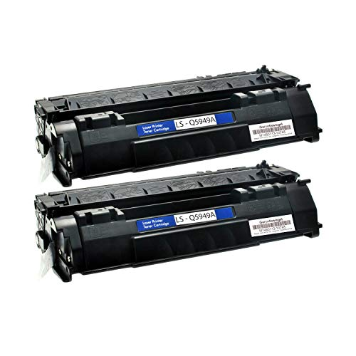 Logic-Seek Toner kompatibel für HP Q5949A, 2-er Pack, schwarz
