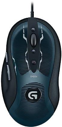 Logitech G400S - Ratón Gaming (USB, Óptico, ofi...