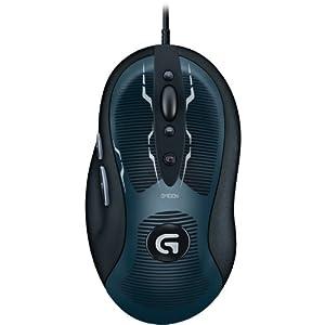 Logitech G400s optische Gaming Maus schnurgebunden