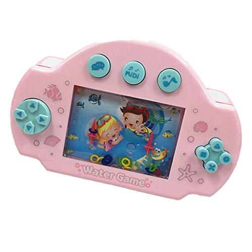ultivieren Kind Denken Fähigkeit Spielzeug Wasser Ring Werfen Handheld Spielmaschine Eltern-Kind Interaktive Spiel Spielzeug, Zufällige Farbe ()