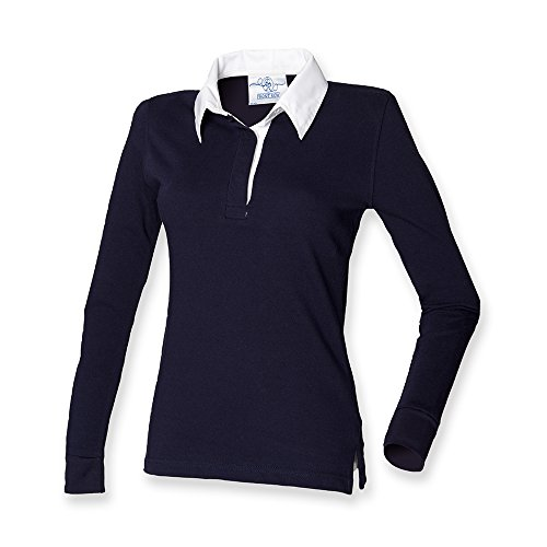Front Row -  Polo  - Donna blu navy