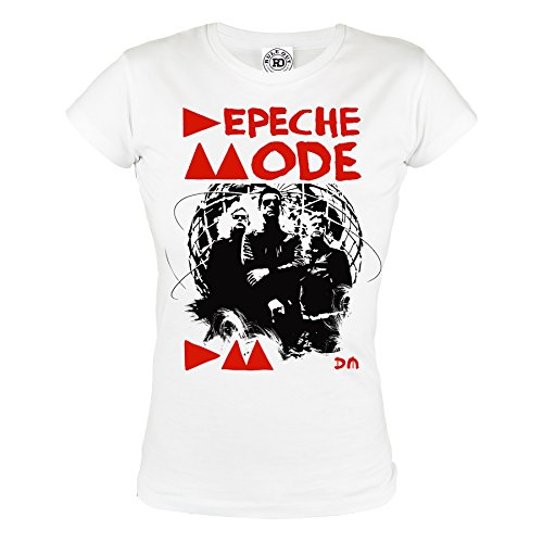 Rule Out Women T-Shirt. Depeche Mode. Violator Rock Band. Depeche Fans. Casual (Größe Medium) (Thai Damen-t-shirts Baumwolle)