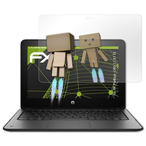 atFolix Bildschirmfolie für HP ProBook x360 11 G1 EE Spiegelfolie, Spiegeleffekt FX Schutzfolie